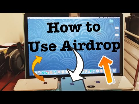 2019: How to AIRDROP (Transfer Photos/Videos) from iPhone to Macbook & Vice Versa  (STEP BY STEP)