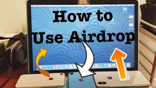 How to AIRDROP (Transfer Photos/Videos) from iPhone to Macbook & Vice Versa  (STEP BY STEP)