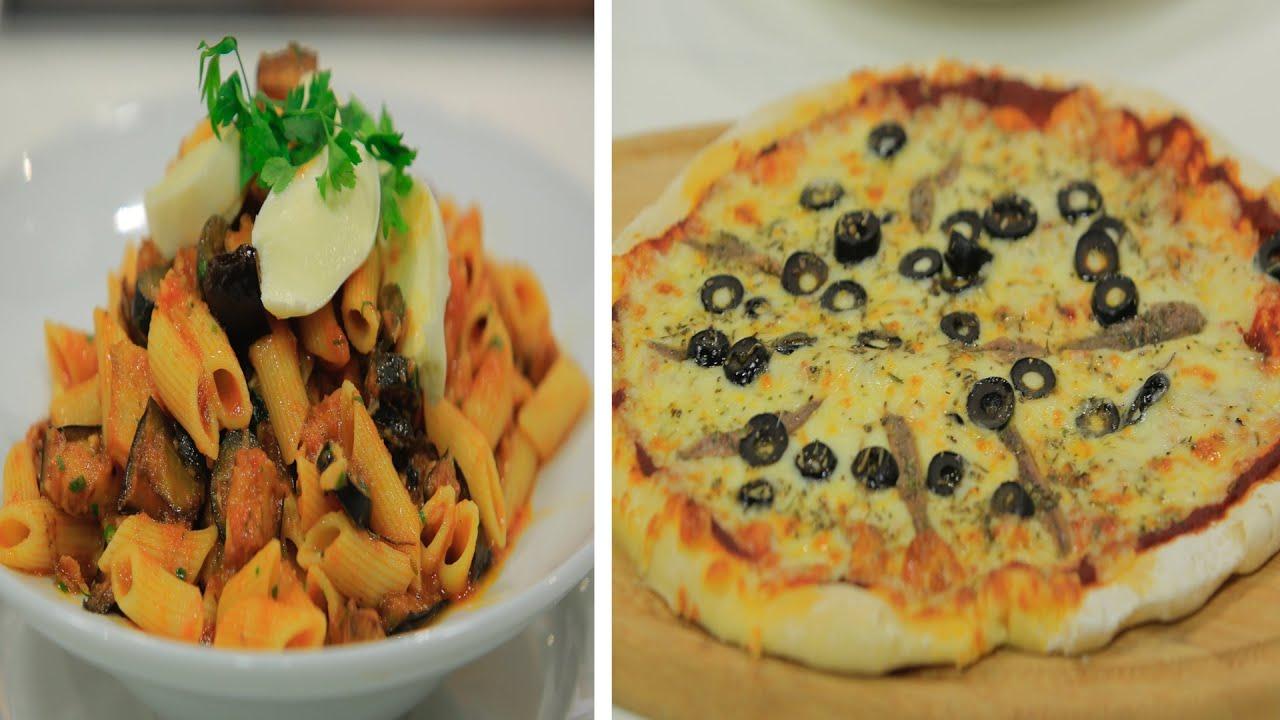 عجينة البيتزا - صوص البيتزا - بيتزا نابولي و وصفات اخرى : حلو وحادق حلقة كاملة