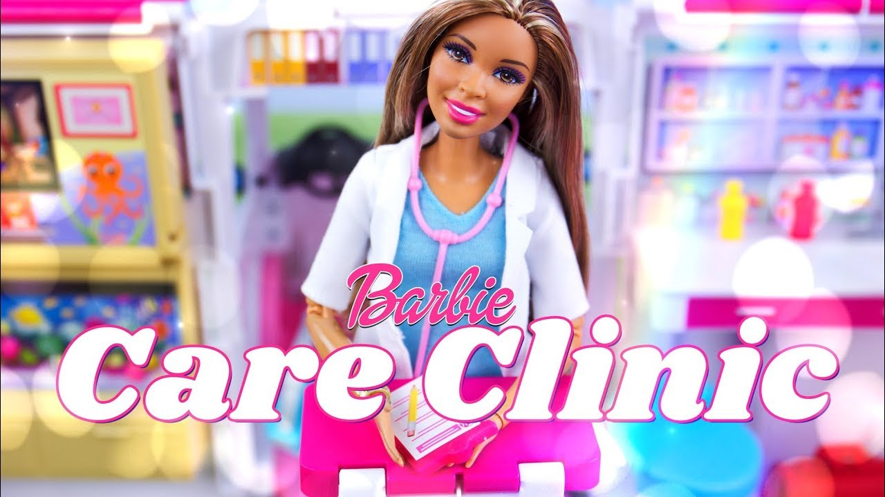Unbox Daily: Barbie Care Clinic Play Set