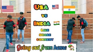 America 🇺🇸 Vs India 🇮🇳 ~ When going out from home 🏡 😂 ~ Dushyant Kukreja #shorts