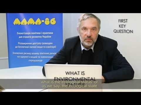 EU Water Framework Directive: General Principles and Methodology for Ecological Status Assessment