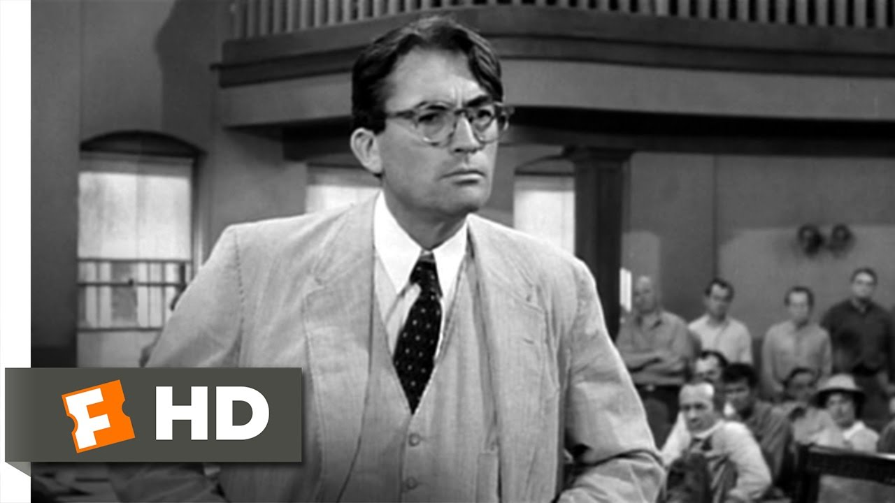 atticus s closing statement to kill a mockingbird movie atticus s closing statement to kill a mockingbird 7 10 movie clip 1962 hd