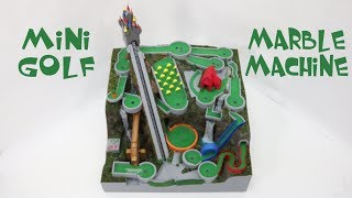 Mini Golf Marble Machine, a themed marble run