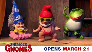 Adventure begins MARCH 21 #SherlockGnomes