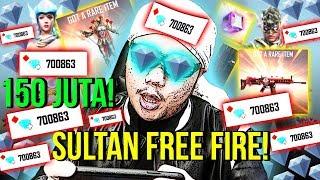 SULTAN FF BELI 700.000 DIAMONDS TOTAL 150JUTA TANPA RAGU!! - Free Fire Indonesia #64 thumbnail