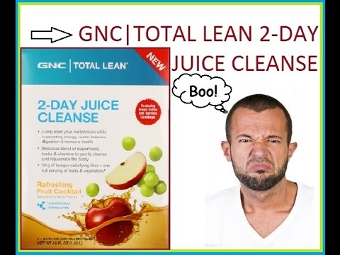GNC Total Lean 2 Day Juice Cleanse Review (How much weight I lost)