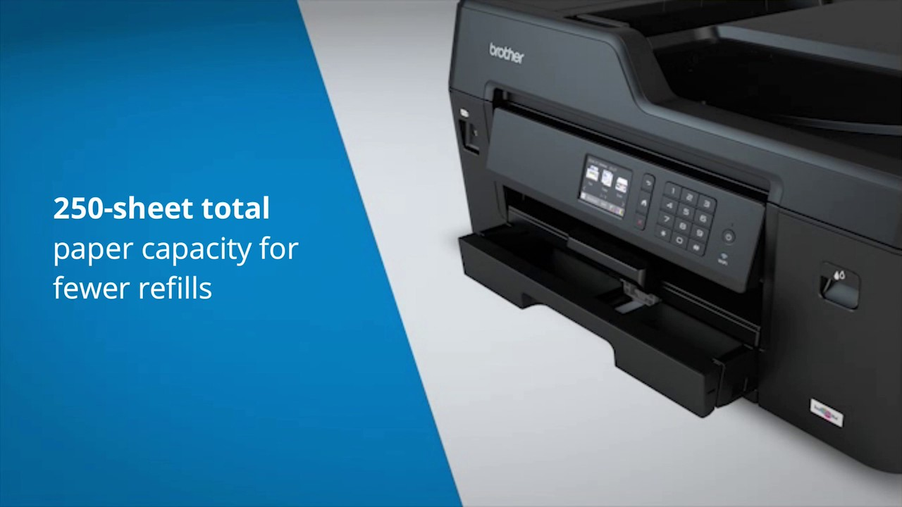 Brother UK - All-in-one Inkjet Printer with A3 printing - MFC-J6530DW