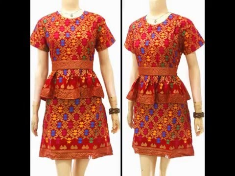 082133766778 Model Baju Dress Batik Modern Terbaru Solo