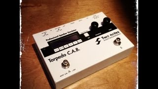 Two Notes Torpedo CAB Speaker Simulator, demo by Pete Thorn