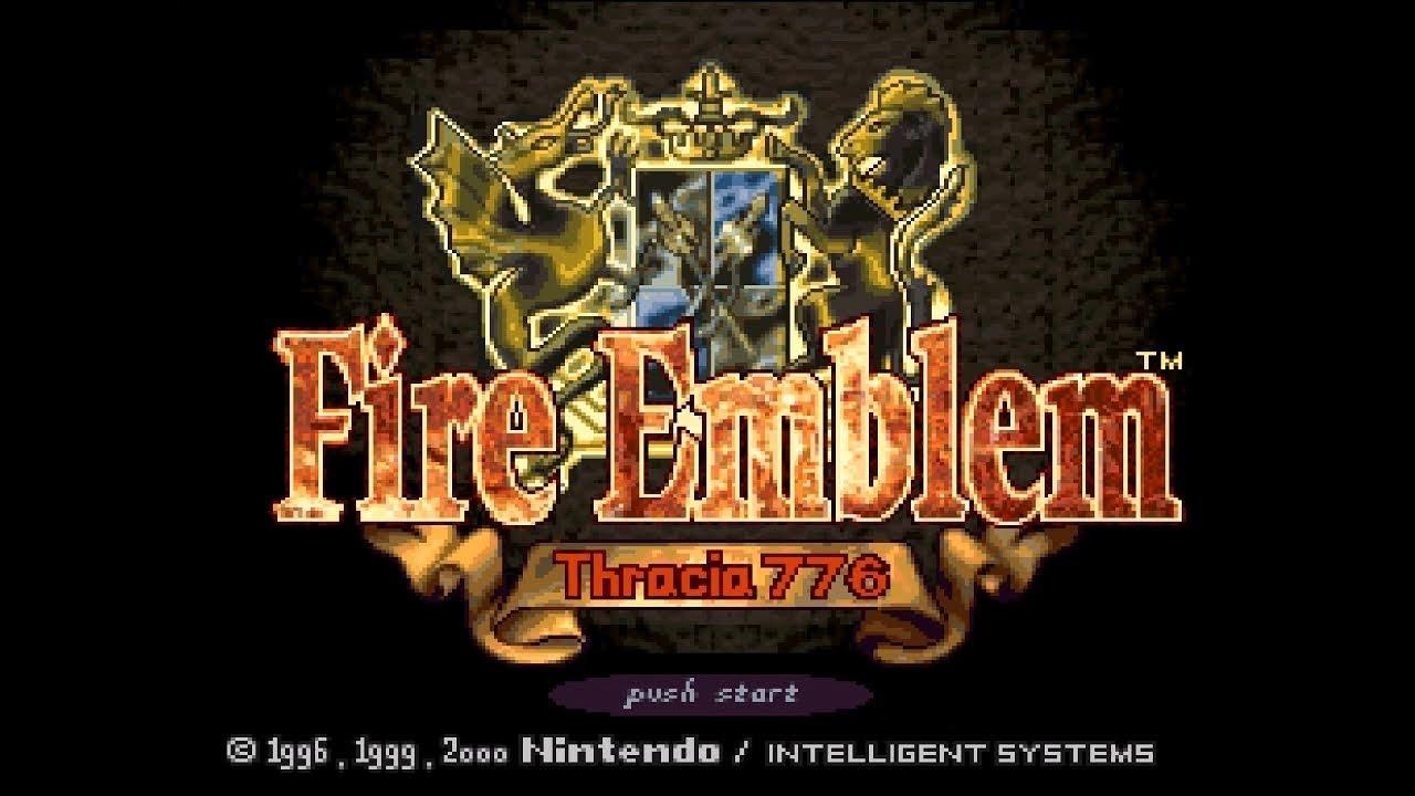 Super Famicom Exclusive Fire Emblem: Thracia 776 English Fan