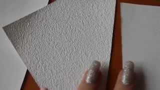 Текстуры виниловых обоев на бумажной основе и текстура флизелин