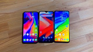 XIAOMI MI MIX 3 VS HONOR MAGIC 2 VS ONEPLUS 6T PARLIAMONE