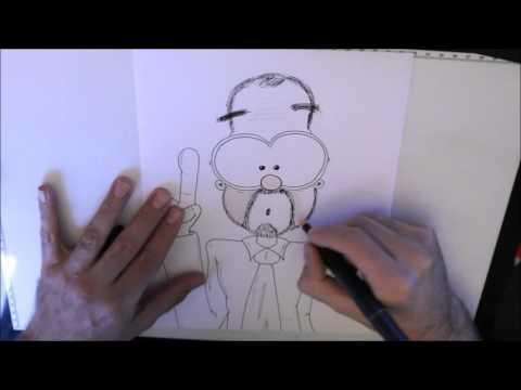 Comics zeichnen mit Tobi Wagner – SPEED COMIC MIT DOKTORTITEL :-)