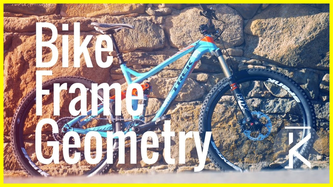 Mountain Bike Frame Geometry Explained | Skills with Phil - YouTube