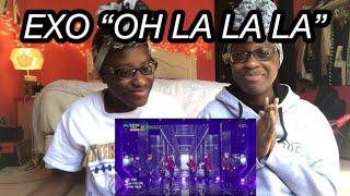 EXO (엑소) - 닿은 순간 (Ooh La La La) MUSIC BANK (REACTION)