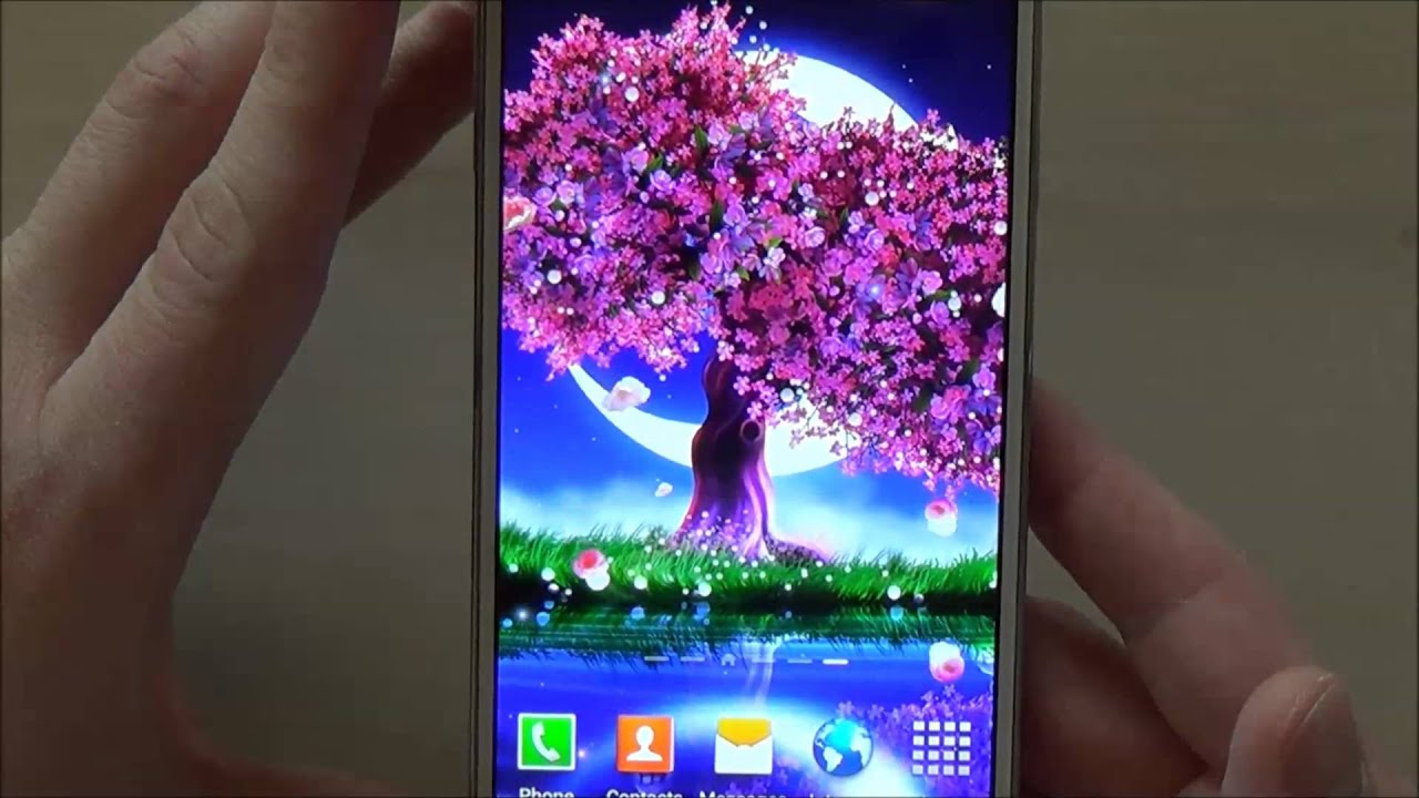 free cherry blossom live wallpaper for android phones and tablets youtube