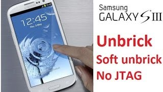 FIX DEAD / Unbrick Samsung Galaxy S3 i747M - Easy Method using SD card & debrick image