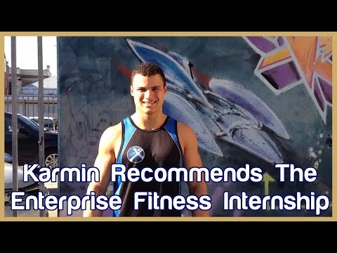 Karmin from Discover Personal Training recommends Enterprise Fitness' Internship Program