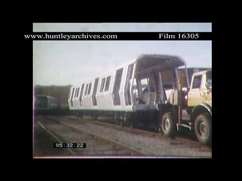 Constructing the Caracas Metro.  Archive film 16305