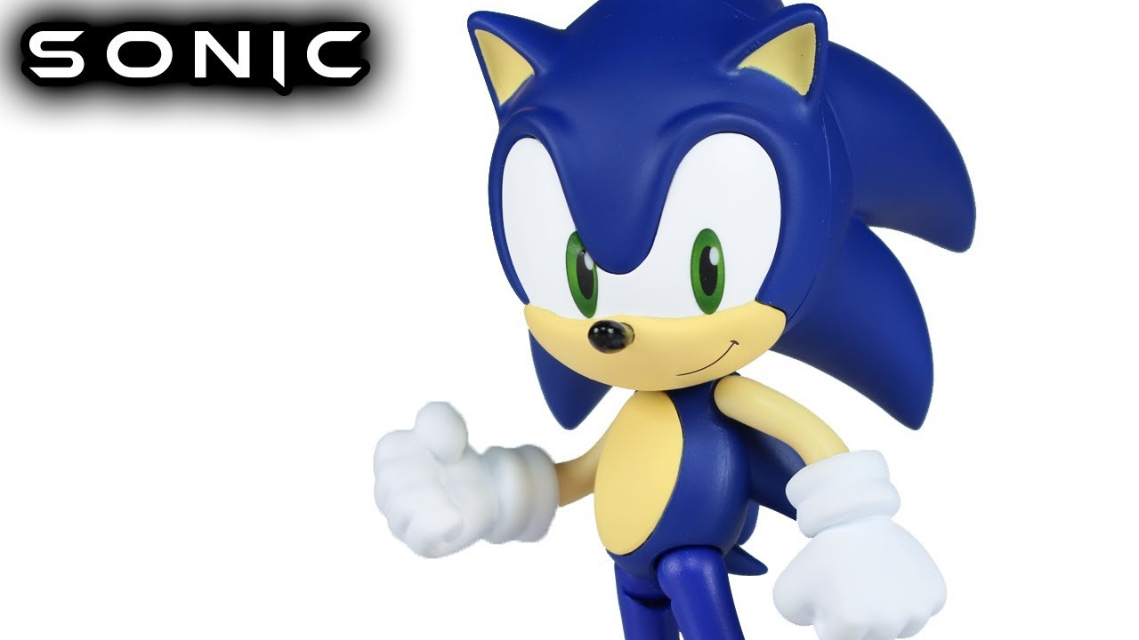 Nendoroid Ez Sonic The Hedgehog Action Figure Review Youtube