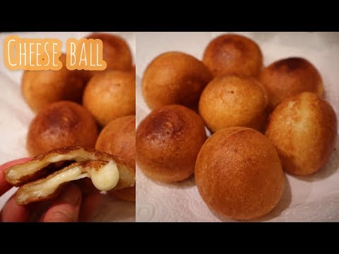 ENG SUB] Korean cheese ball recipe using ottogi mini