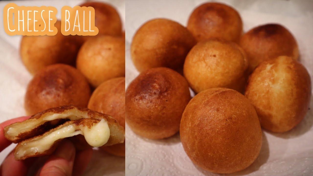 [ENG SUB] Korean cheese ball recipe using ottogi mini doughnut mix🧀韩式芝士球🧀