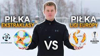 PORÓWNANIE PIŁEK - Ekstraklasa vs Liga Europy | GDfootball
