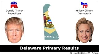 Delaware Primary Result 2016 : US Election 2016