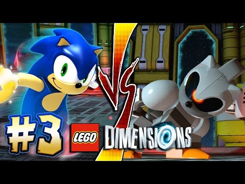 Lego Dimensions PS4 Pro - Sonic Level Pack Part 3: Silver ...