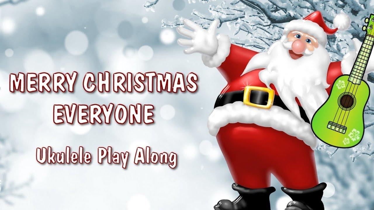 Merry Christmas Everyone - Ukulele Play Along - Christmas - YouTube