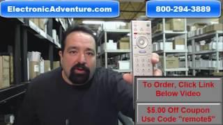 Original Sony RM-ED005 LCD TV Remote Control (147968521) Get $5 Off - ElectronicAdventure.com