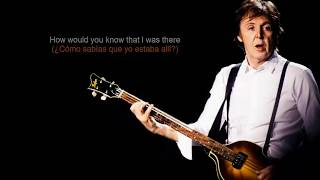 Paul McCartney - On My Way To Work (Lyrics/Subtitulada a español)