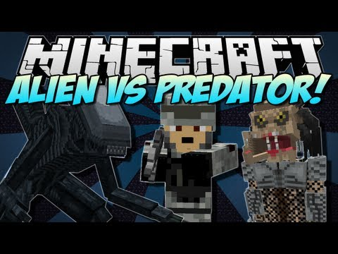 alien vs predator mod minecraft 1.11.2 download