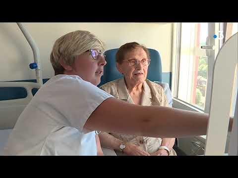 Le nouveau service de neurologie de l'hôpital de Saint-Lô : l'innovation technologique au service du bien-être - - France 3 Normandie