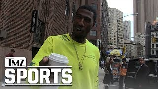 Iman Shumpert Tells Hilarious Carmelo Anthony Hazing Tale Involving Skittles | TMZ Sports