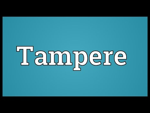 Tampere Meaning