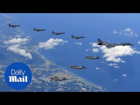 Donald Trump: We'll deal with 'Little Rocket Man' Kim Jong-un - Daily Mail