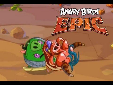 [iOS] Angry Birds Go! прохождение [#18] - Просто фармим золотишко...