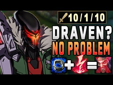 The Draven was not prepared for this Jhin build