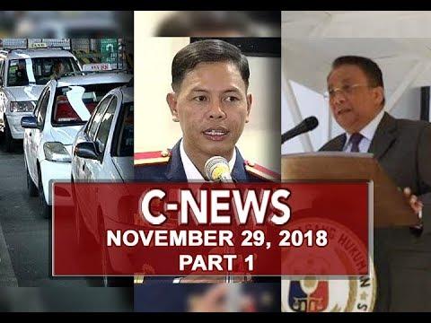 UNTV: C-News (November 29, 2018) PART 1