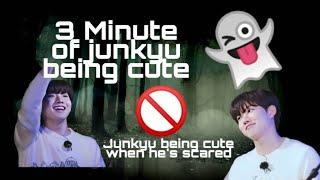 3 Minute of Kim Junkyu being cute and scary koala