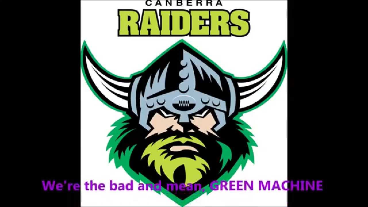 Canberra Raiders RLFC  - cover