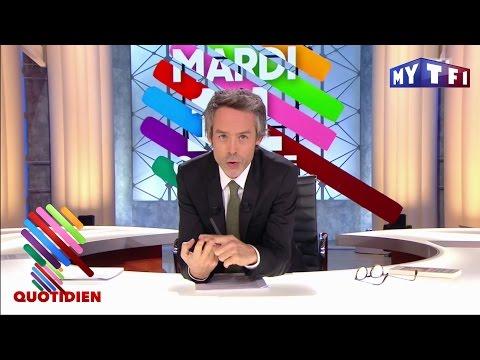 Manuel Valls et un jeune fayot - Quotidien Express du mardi 11 Octobre