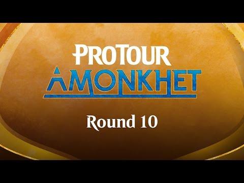 Pro Tour Amonkhet Round 10 (Draft): Martin Müller vs. (8) Lee Shi Tian