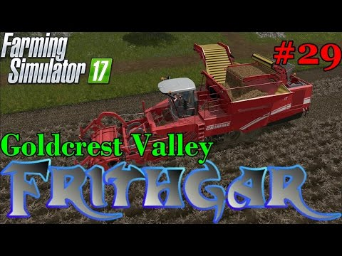 Let's Play Farming Simulator 2017, Goldcrest Valley #29: Harvesting Sugar Beet And Potatoes At Last!