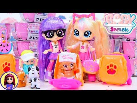 BFF Bestie Girls babysit Baby Secrets Blind Bathtubs Reveal