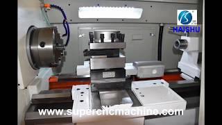 China horizontal CNC lathe manufacturer
