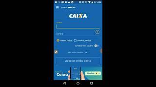 Cadastro Internet Banking Caixa. Pelo Celular Android. 2017.