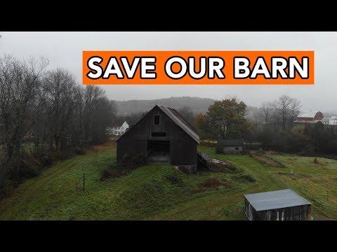 Saving an Old Vermont Barn